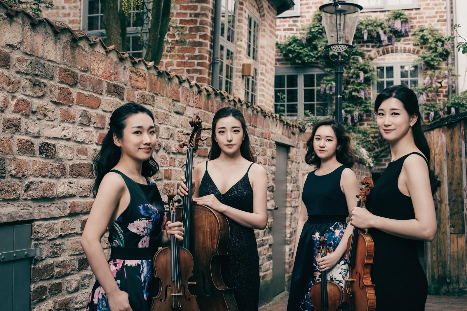 Esme Quartet group photo