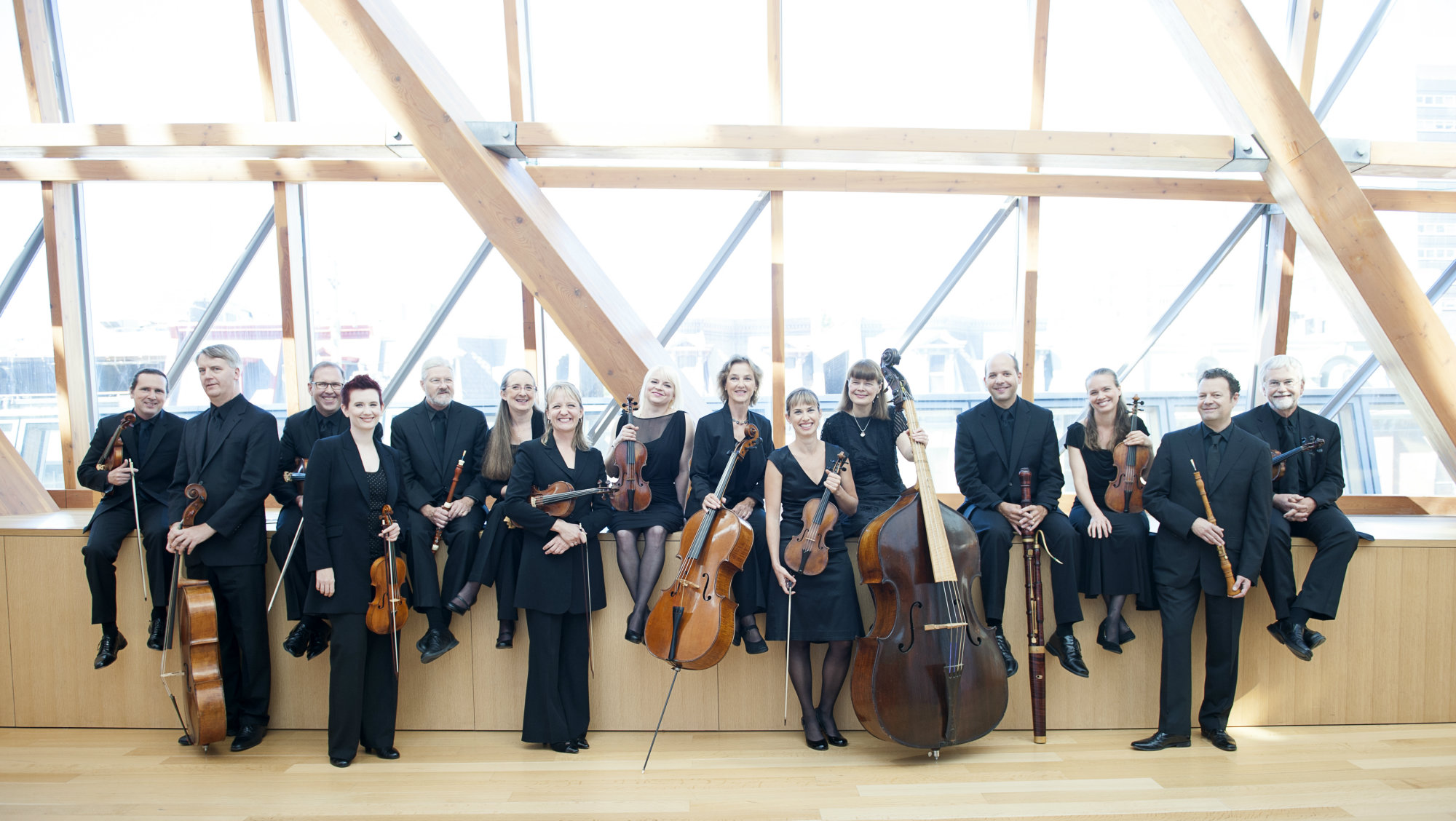 members of Tafelmusik Baroque Orchestra