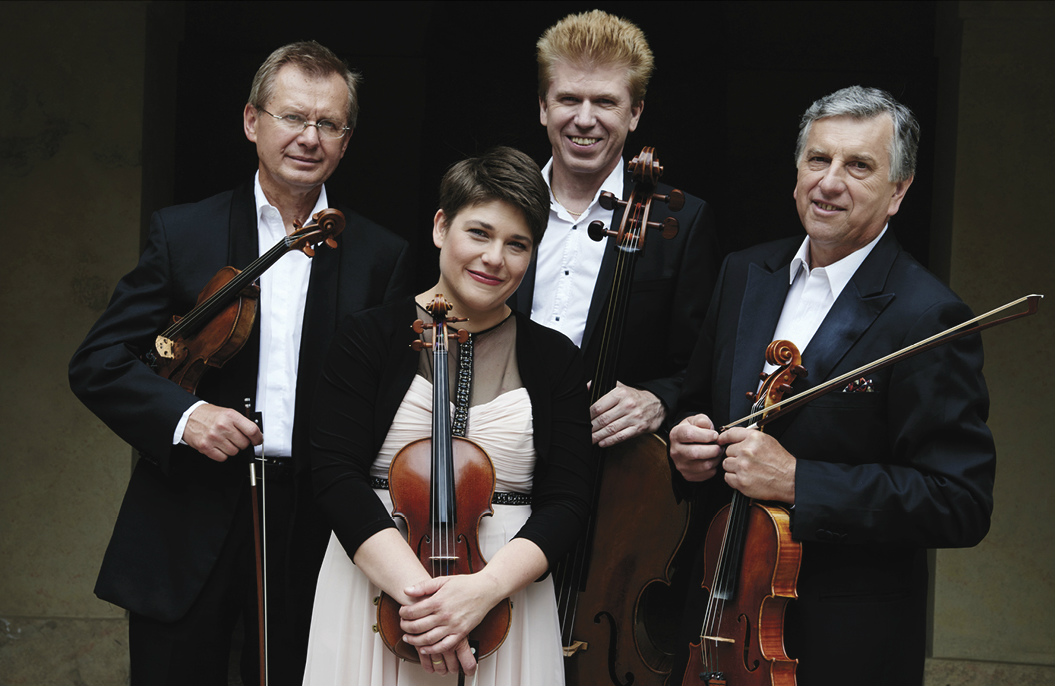 members of the Pražák Quartet